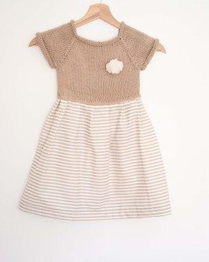 Vestito bambina in cotone