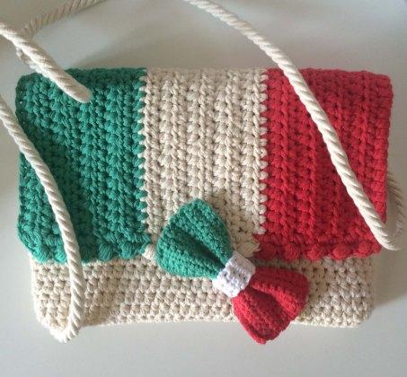CrastyFlap Irma and bow tie Italian Flag